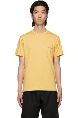 Comme des Garçons Men T-shirts - Yellow Logo T-Shirt