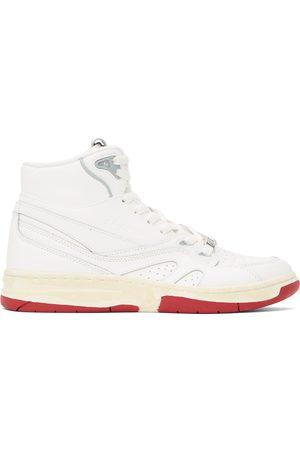 Li Ning White 937 Deluxe Hi Sneakers