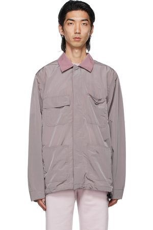 032c Men Jackets - Purple Heat Sensitive Worker Jacket