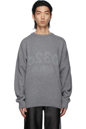 032c Wool Knit Reflective Sweater