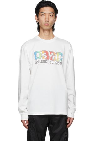 032c Men Long Sleeve - System Long Sleeve T-Shirt