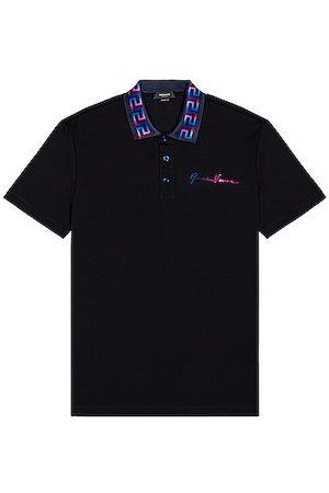VERSACE Men Polo Shirts - Polo in Navy
