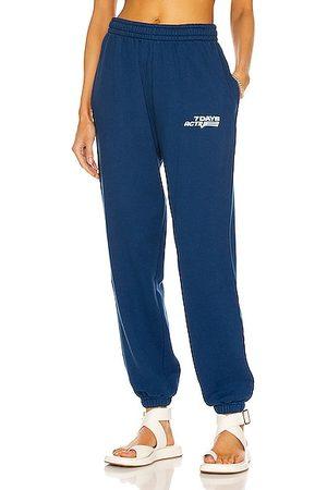 7 DAYS ACTIVE Women Sweatpants - Monday Pants in Navy
