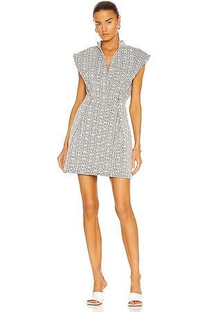 Givenchy 46 Denim Sleeveless Dress in Grey