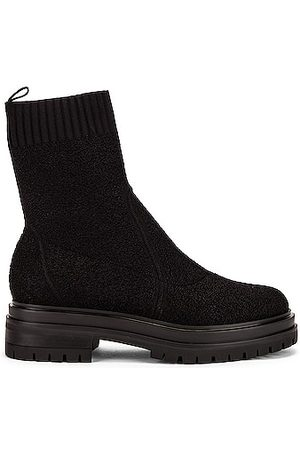 Gianvito Rossi Knit Ankle Boots in
