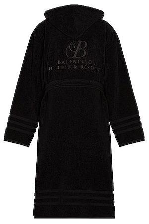 Balenciaga Men Bathrobes - Towel Bathrobe in