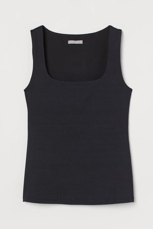 H&M Women Tank Tops - Fitted Tank Top