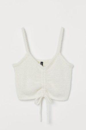 H&M Women Crop Tops - Brushed Crop Top