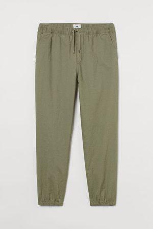 H&M Men Tracksuits - Linen-blend Joggers
