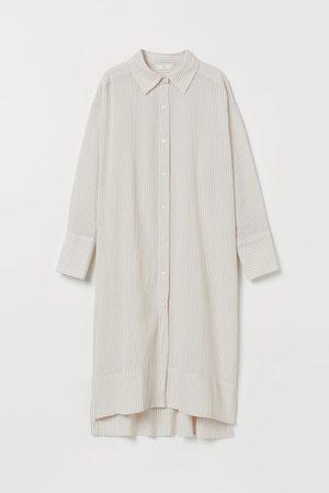 H&M Women Casual Dresses - Cotton Shirt Dress