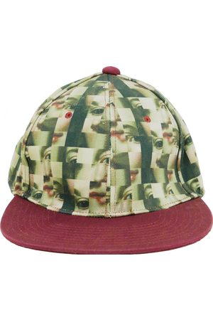 UNDERCOVER Men Hats - Burgundy Cotton Hats & Pull ON Hats