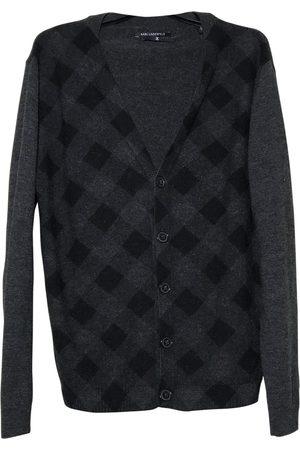Karl Lagerfeld Anthracite Wool Knitwear & Sweatshirts