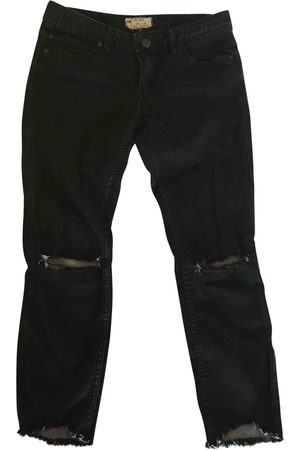 Free People Women Jeans - Cotton Jeans