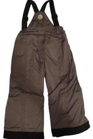 Moncler Grey Polyester Trousers