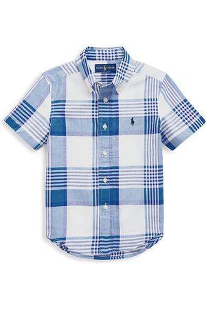 Ralph Lauren Boys Short sleeves - Little Boy's & Boy's Check Short-Sleeve Shirt - - Size 10