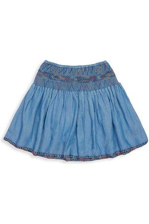 Peek Little Girl's & Girl's Donatella Pixie Denim Skirt - Denim - Size 10