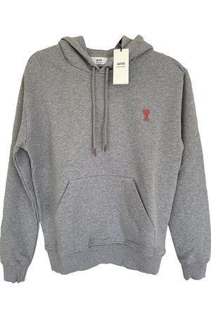 Ami Grey Cotton Knitwear & Sweatshirts