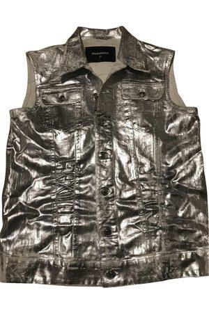 Dsquared2 Metallic Cotton Jackets