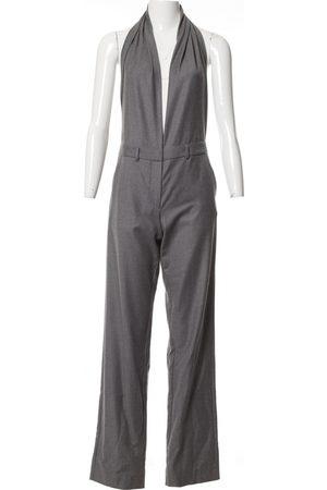 Maison Martin Margiela Grey Wool Jumpsuits