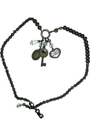 Dolce & Gabbana Anthracite Steel Necklaces