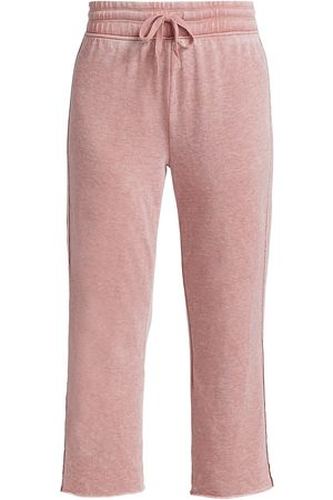 Splendid Women's Costa Mesa Cropped Sweatpants - Sienna - Size Small