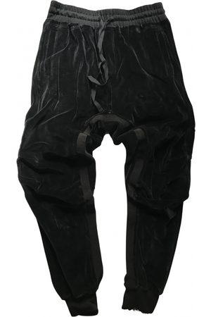 Haider Ackermann Velvet Trousers