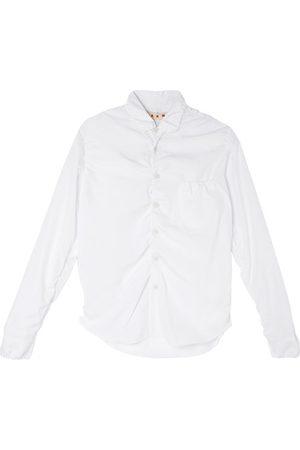 Marni Women Long sleeves - Long-sleeved ruched-effect shirt