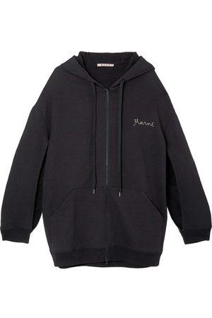 Marni Oversized zippered hoodie