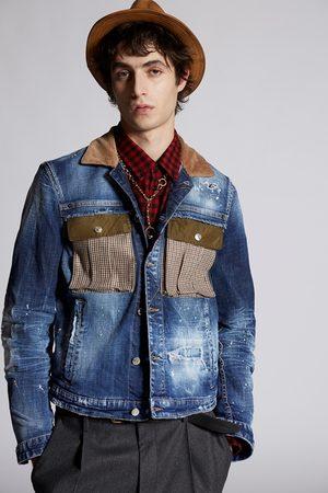 Dsquared2 Men Denim Jackets - Men Denim outerwear
