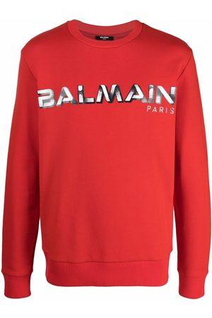Balmain Men Sweatshirts - Logo-print sweatshirt