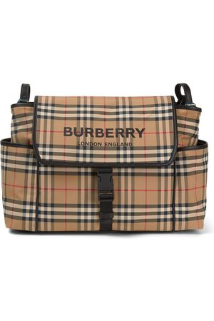 Burberry Kids - Beige Vintage Check Changing Bag - Unisex - One Size - - Changing bags
