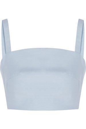 Casa Raki Women Swimwear - Luli cropped cupro top