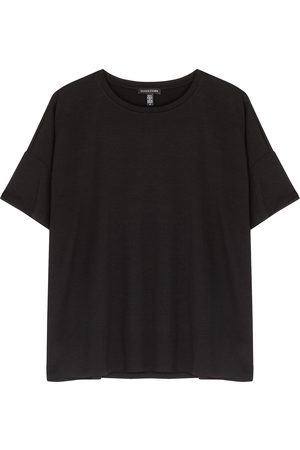 Eileen Fisher Women T-shirts - Stretch-jersey T-shirt