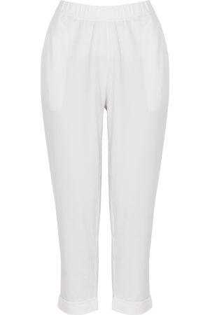 Eileen Fisher Women Slim - Slim-leg stretch-jersey trousers