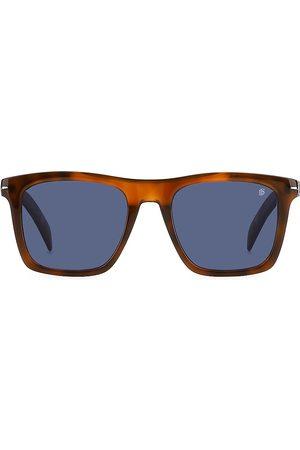 David beckham Men's 51MM Square Sunglasses - Havana