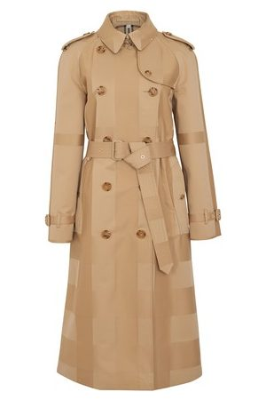 Burberry Checked trench coat