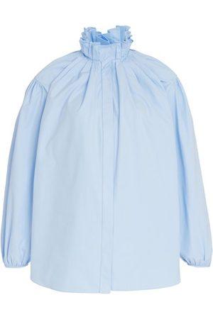 Alexander McQueen Puff sleeve shirt
