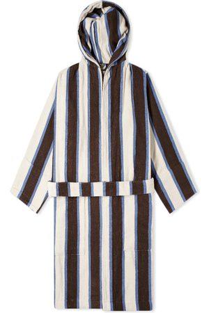 Tekla Fabrics Men Bathrobes - Terry Stripe Bathrobe