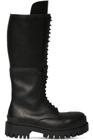 Balenciaga Men Boots - Master Leather Boots