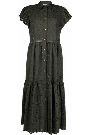 P.a.r.o.s.h. Women Casual Dresses - Cut out-detail shirt dress