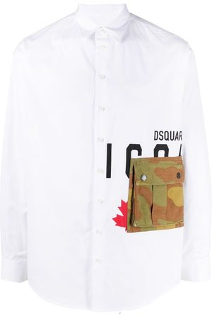 Dsquared2 Men Long sleeves - Icon long-sleeve shirt