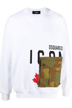Dsquared2 Men Sweatshirts - Logo-print sweatshirt