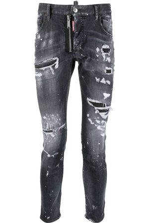 Dsquared2 Men Skinny - Trash low-rise skinny jeans