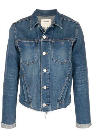 L'Agence Women Denim Jackets - Janelle denim jacket