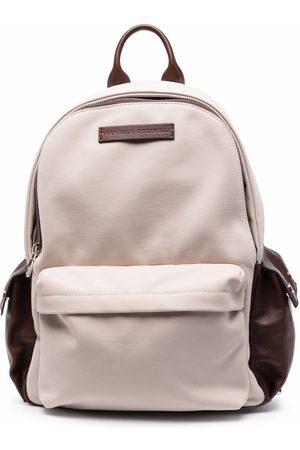 Brunello Cucinelli Multi-pocket backpack - Neutrals