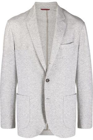 Brunello Cucinelli Cashmere single-breasted blazer - Grey