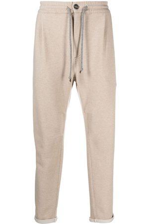 Brunello Cucinelli Cashmere track pants - Neutrals