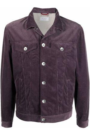 Brunello Cucinelli Men Jackets - Corduroy shirt jacket