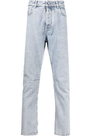 Brunello Cucinelli Stonewashed straight-leg jeans