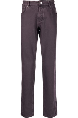 Brunello Cucinelli Straight-cut denim jeans